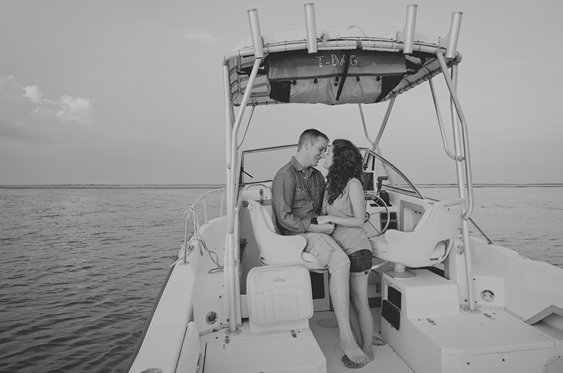 boat-ride-engagement-session