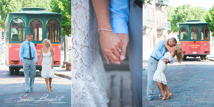 003.downtown wilmington engagement pictures