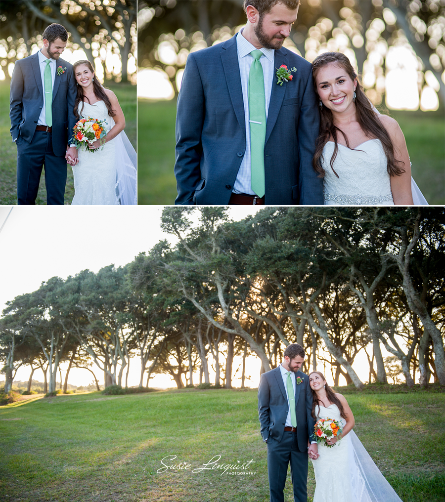 0001.bride and groom portraits fort fisher