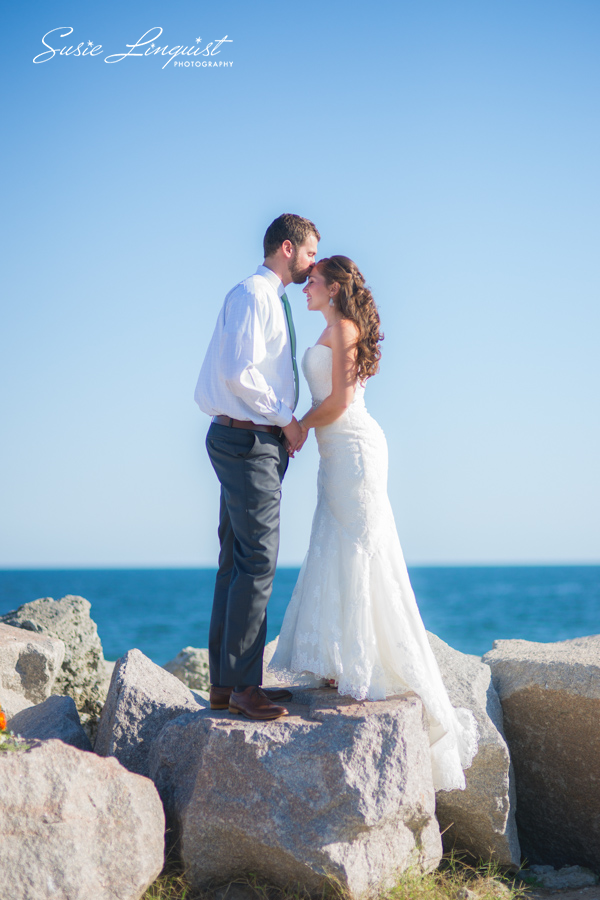 0005.bride and groom portraits fort fisher