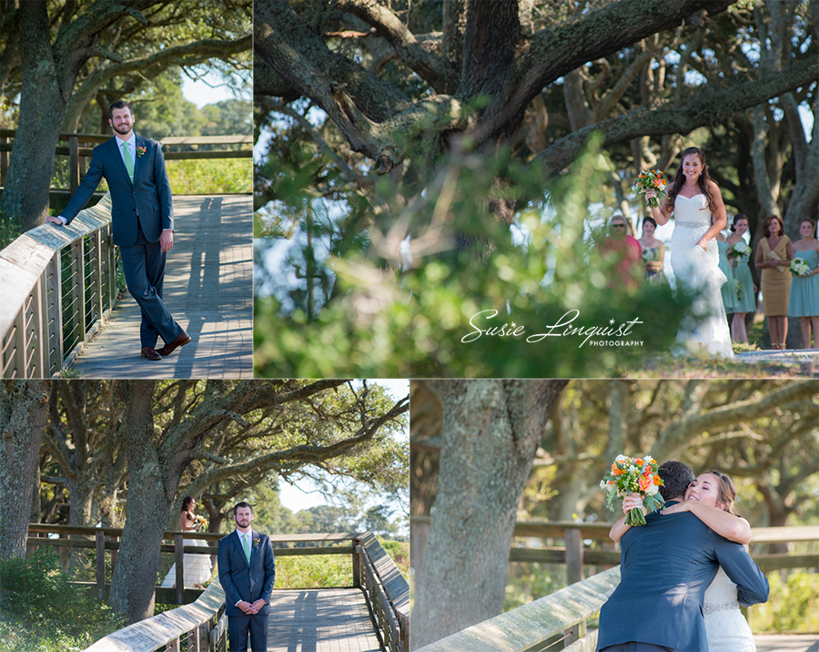 0041.first look fort fisher wedding