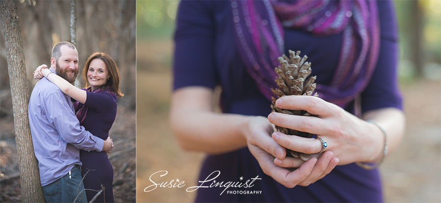 Wilmington NC Fall engagement Session
