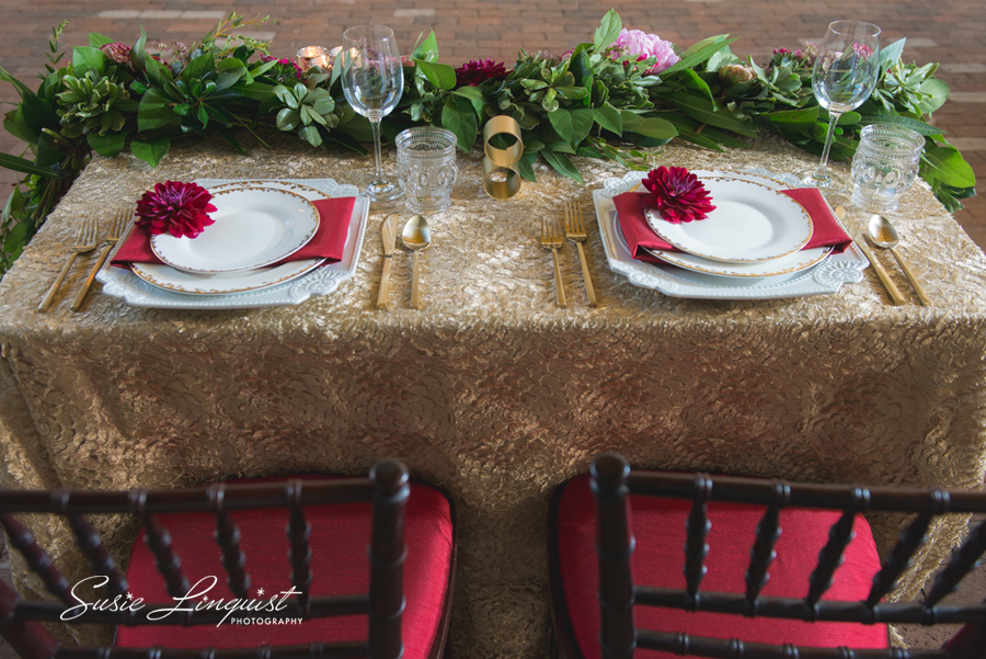 Styled shoot at The Atrium. Downtown Wilmington nc