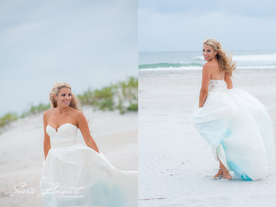 whimsical bridal portrait