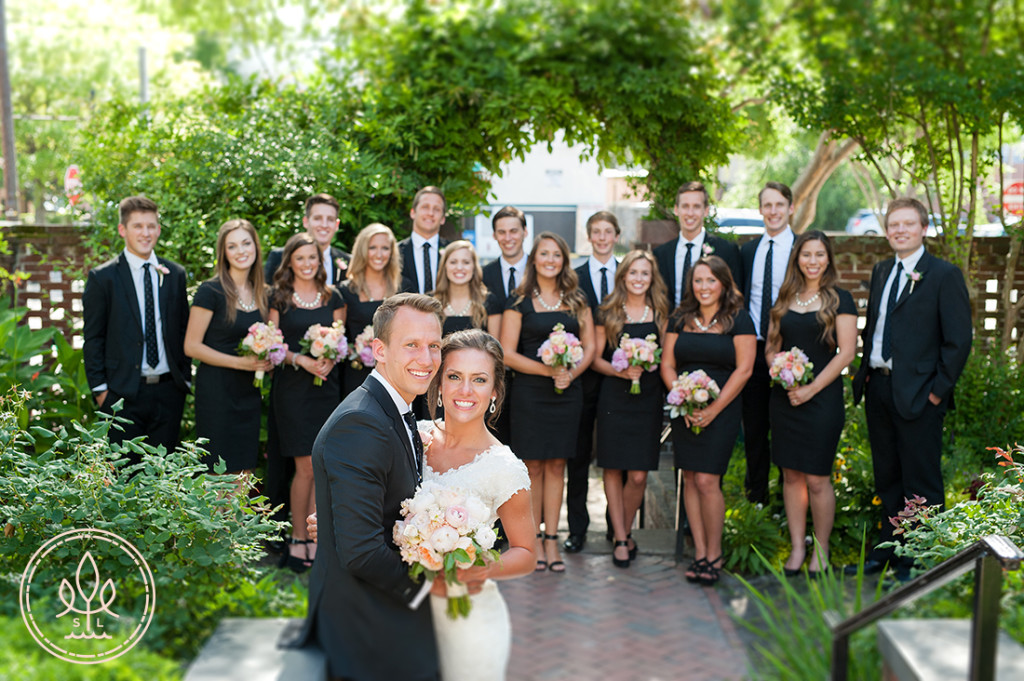 bridal party pictures wilmington nc city club