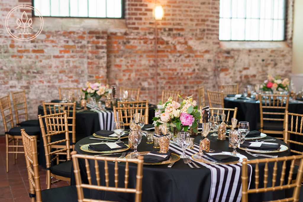 bakery 105 wedding reception in downtown wilmington nc