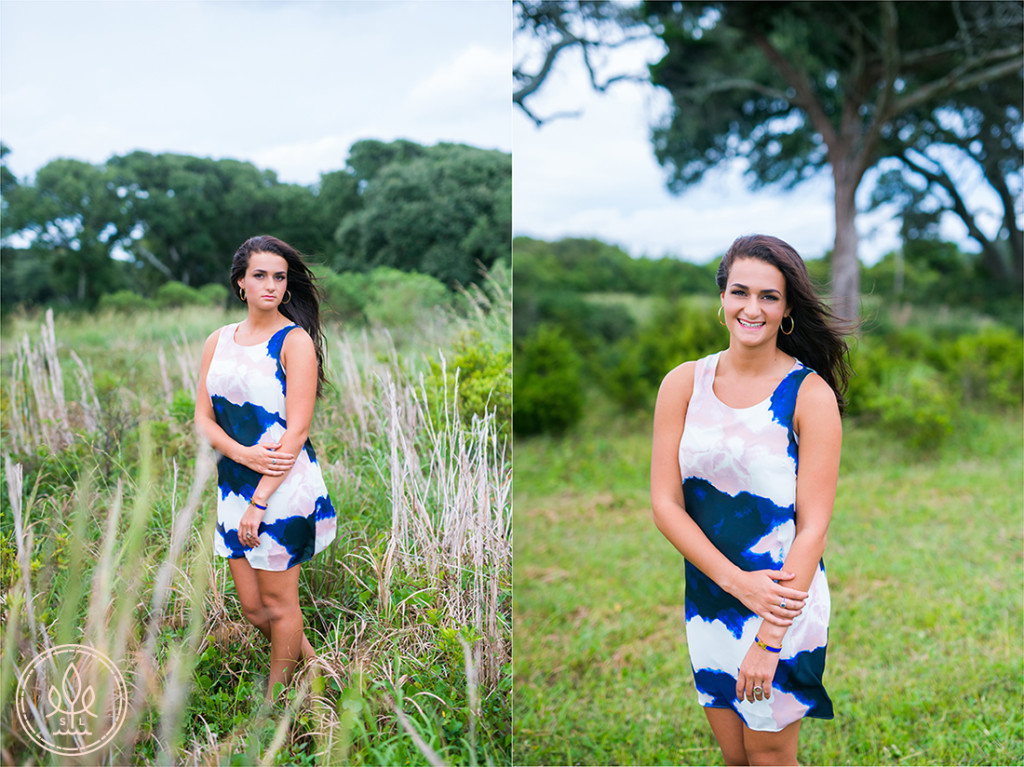 outdoor wilmington nc señior portrait session