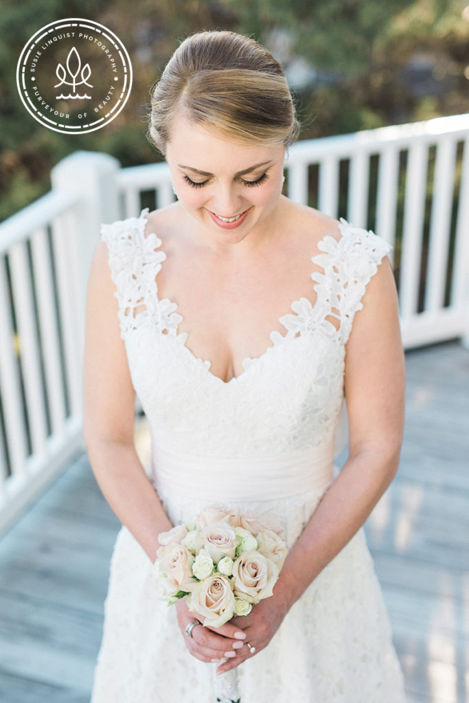 bridal portrait session oak island