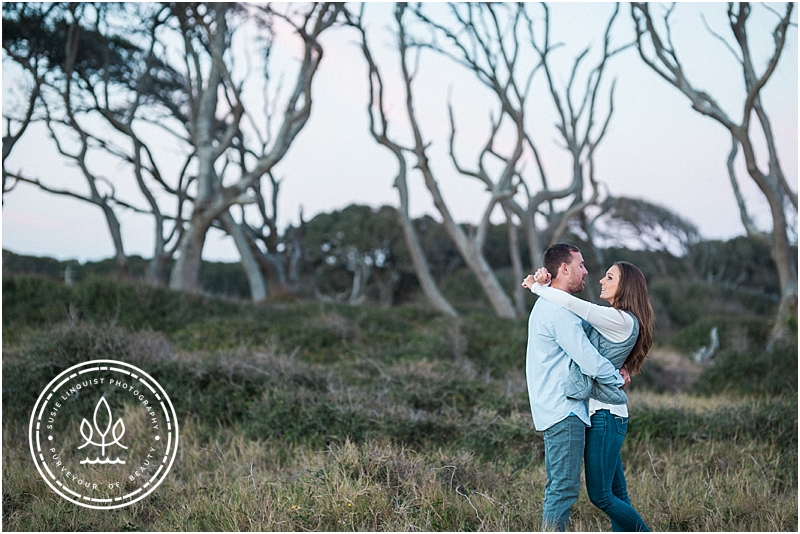 fort fisher engagement session